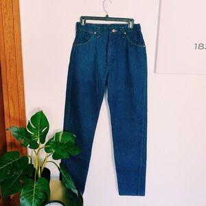 Wrangler Straight Leg Dark Wash Jeans